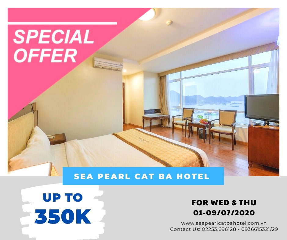 FLASH SALE – SEA PEARL CAT BA HOTEL